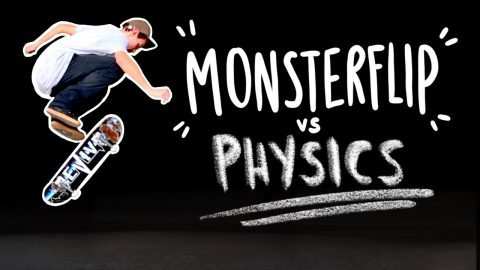This Trick should REALLY be IMPOSSIBLE | MONSTER FLIP - Jonny Giger