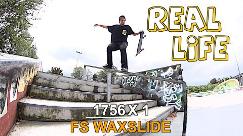 TONY HAWK SPECIAL TRICKS IN REAL LIFE EP5 | WAXSLIDE
