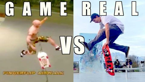 TONY HAWK SPECIAL TRICKS VS REAL LIFE - Jonny Giger