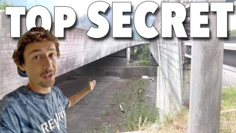 TOP SECRET SKATE SPOT - Jonny Giger