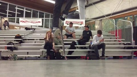 TS rail double semi-flip - pooponunicycle
