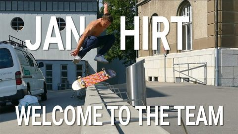 Welcome to the Team - Jan Hirt - SKATE.CH