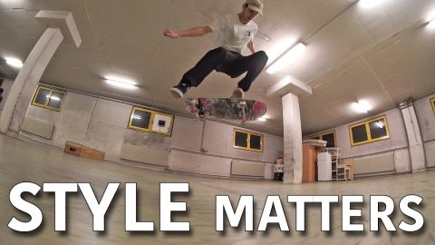 WHY DOES STYLE MATTER IN SKATEBOARDING? - Jonny Giger