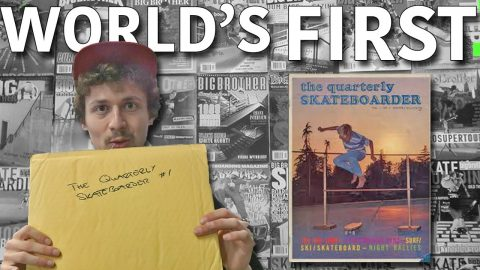 WORLD'S VERY FIRST SKATE MAG 1964 REVIEW - Jonny Giger