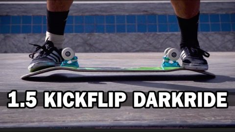1.5 Kickflip to Darkride: June Saito || ShortSided - Brett Novak