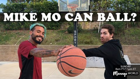 1 ON 1 With MIKE MO! - MannysWorld