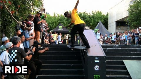 10 Stair Hubba and Rail Contest - Winner Goes to Tampa AM! - Suzano Brazil - RIDE Channel