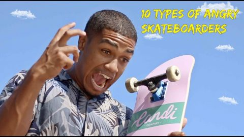 10 Types of Angry Skateboarders - LamontHoltTV