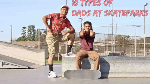 10 Types of Dads at Skateparks - LamontHoltTV