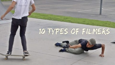 10 Types of FILMERS - LamontHoltTV