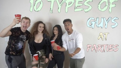 10 Types of Guys at Parties - LamontHoltTV