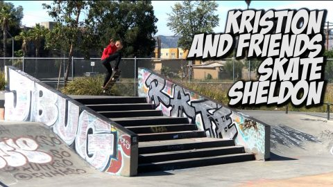 10 YEAR OLD KRISTION SHREDS SHELDON & MUCH MORE !!! - NKA VIDS - | Nka Vids Skateboarding