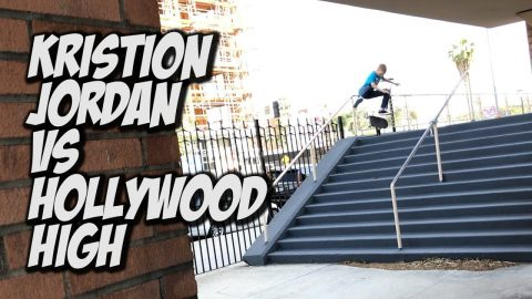 10 YEAR OLD KRISTION VS HOLLYWOOD HIGH !!! - NKA VIDS - | Nka Vids Skateboarding