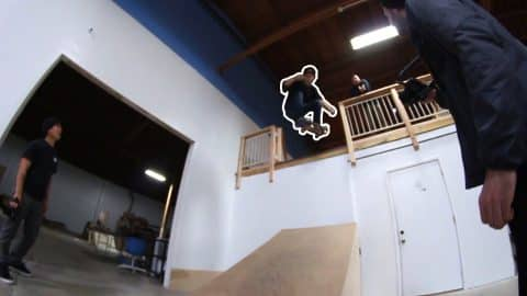 100% BRAILLEHOUSE DESTRUCTION! - Braille Skateboarding