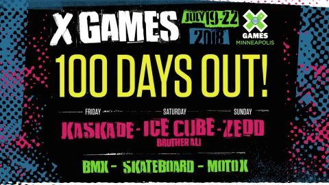 100 Days Out and Two-Year Extension | X Games Minneapolis 2018 - X Games