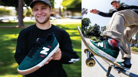 100 DIFFERENT Flat Bar Tricks With Jamie Foy In The New Balance 306 | CCS