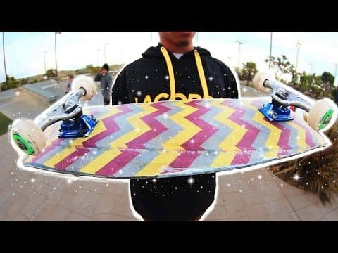 100% FABRIC SKATEBOARD! PLUS BIG BOWL SESH | YOU MAKE IT WE SKATE IT EP 109 - Braille Skateboarding