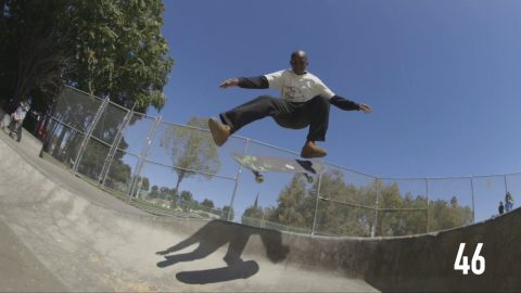 100 Kickflips In The Emerica Reynolds G6 With Kader Sylla - CCS