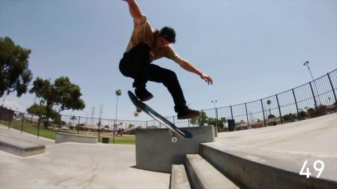 100 Kickflips in the Etnies Michelin Marana with Chris Joslin - CCS