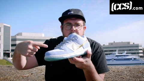 100 Kickflips In The Nike SB Holiday Special Dunks By Sean Cliver | CCS