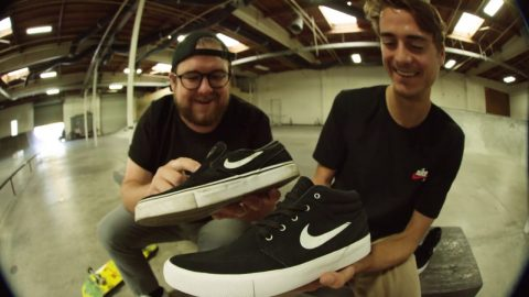100 Kickflips in the Nike SB Janoski Mid Remastered with Blake Carpenter | CCS