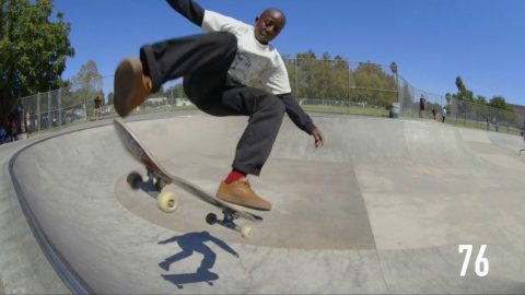100 Kickflips In The Reynolds G6 with Kader Sylla - CCS