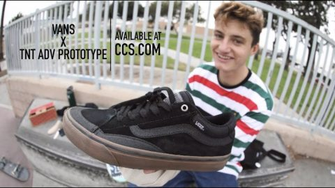 "100 Kickflps In The Vans TNT Advanced Prototype With Zach ""Ducky"" Kovacs 