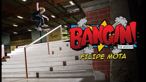 12-Year Old Brazilian Ripper Filipe Mota Raises The Bar | BANGIN! | The Berrics