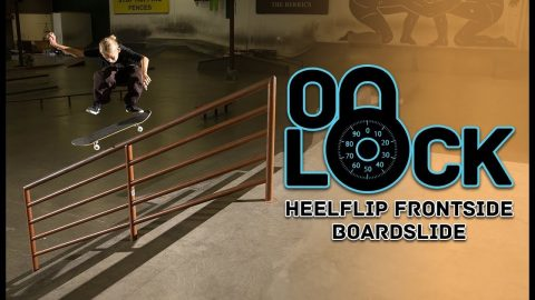 12-Year Old Heelflip FS Boardslides Every Rail In The Park First Try | Filipe Mota - ON LOCK | The Berrics