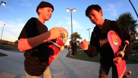 13 YEAR OLD GAME OF SKATE - Braille Skateboarding