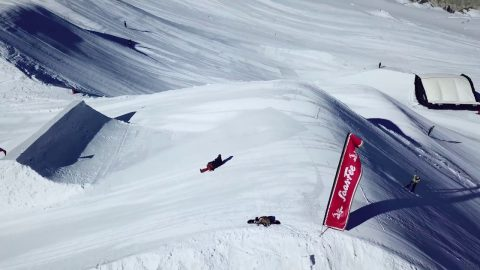 13-Year-Old Valentino Guseli — The Stomping Grounds —Saas-Fee, Switzerland | BOARDWORLD