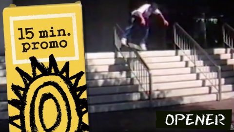 15 Minute Promo: Opener Part | New Deal (1990) | New Deal Skateboards