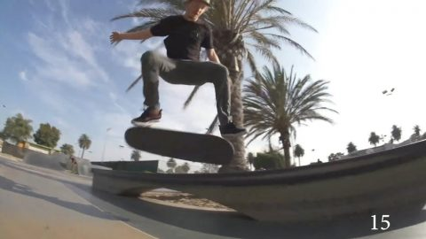 15 Tricks with Jack Olson - REAL Skateboards