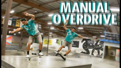"15 Unbelievable Manual Tricks In One Day | June Saito's ""MANUAL OVERDRIVE"" 