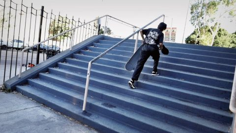 15 YEAR OLD SKATE PROGRESSION | Luis Mora