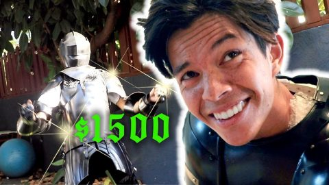 $1500 SUIT OF ARMOR UNBOXING | Chris Chann
