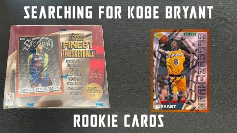 1996-97 Topps Finest Box Opening - Searching for Kobe Bryant Rookie Cards! | Mike Mo Capaldi