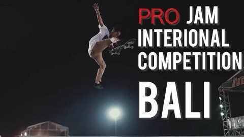 1st Gold Medal PROJAM INTERNATIONAL COMP BALI  SKATEBOARDS | Pevi Permana