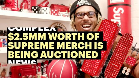 $2.5MM Supreme Collection Being Auctioned in L.A. Gallery | Complex News