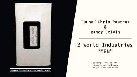 "2 World Industries Men | ""Dune"" Chris Pastras & Randy Colvin - Dwindle Distribution"
