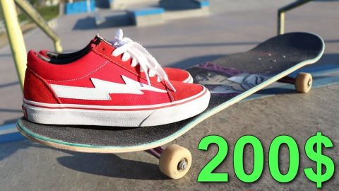 200 DOLLAR SKATE SHOES - Luis Mora