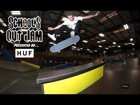 2017 School's Out Jam presented by Huf: Austyn Gillette, Brad Cromer, Jake Anderson - Skatepark of Tampa