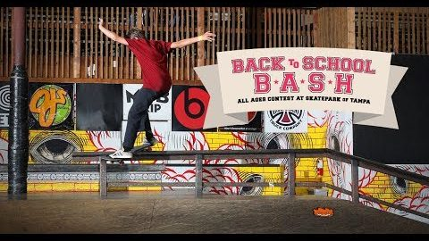 2018 Back To School Bash All Ages Contest | Skatepark of Tampa