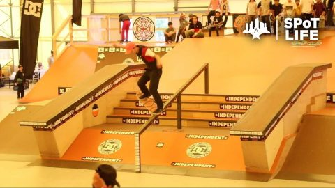 2018 Damn Am Japan: Qualifiers & Best Trick - SPoT Life - Skatepark of Tampa
