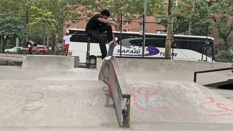 2018 Damn Am NYC - Bowser's iPhone Edits | Skatepark of Tampa