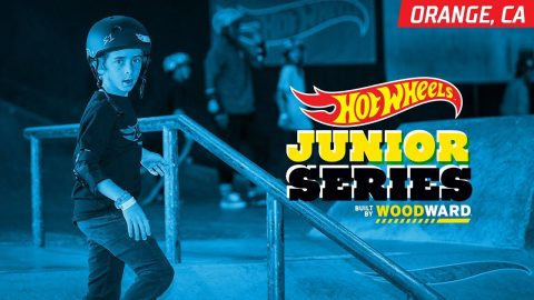 2018 Hot Wheels Junior Series - Orange, CA: Skate Highlights - Woodward Camp