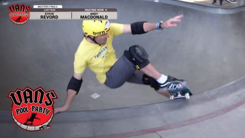2018 Vans Pool Party: Andy Macdonald 2nd Place Run - Masters Division   Vans Pool Party   VANS - Vans