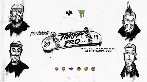 2019 TAMPA PRO SEMI FINALS AND FINALS | Skatepark of Tampa