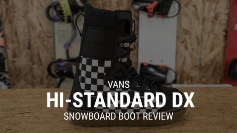 2019 Vans Hi-Standard Linerless DX Snowboard Boot Review | Tactics Boardshop