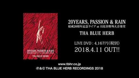 20YEARS, PASSION & RAIN / THA BLUE HERB 12-17 - FarEastSkateNetwork
